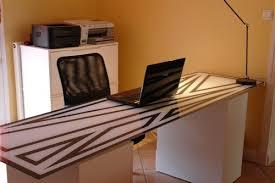 plateau bureau verre bureau avec plateau en verre laqué personnalisé le de