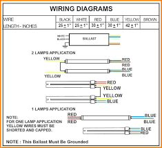 how to wire a 2 l ballast magnificent electronic ballast wiring diagram photos electrical