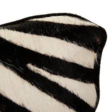 zebra print desk accessories buy a by amara zebra print cowhide cushion 45x45cm amara