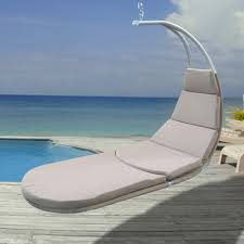 Hanging Chaise Lounge Chair Hanging Chaise Lounge With Cushion Hammocks And Hammock Chairs