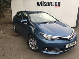 toyota auris used toyota auris business edition for sale motors co uk