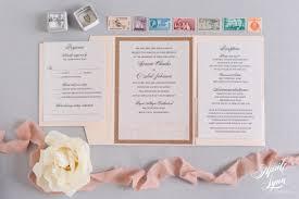 wedding invitation suites genene o neil s blush pink and gold glitter pocketfold