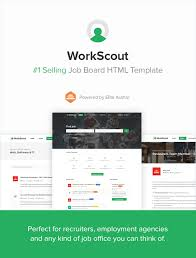 workscout job board html template by vasterad themeforest