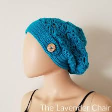 Beanie Chair Crossed Double Slouchy Beanie Crochet Pattern The Lavender Chair
