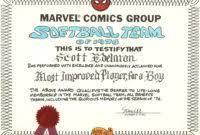 award certificate template softball images certificate design