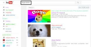 Youtube Doge Meme - crazy youtube tricks you don t know latest and genuine btech prasad
