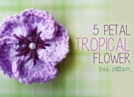 Free Pattern For Crochet Flower - 2225 best flowers images on pinterest crocheted flowers flowers