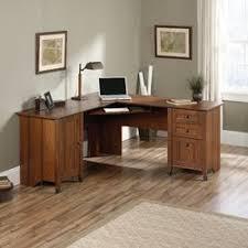 Buy Computer Desk by Loon Peak Newdale L Shaped Computer Desk U0026 Reviews Wayfair
