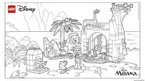 island coloring page lego disney moana island coloring pages printable
