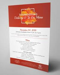 thanksgiving dinner delivery carly romano designs