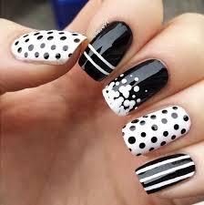 Nail Art Design Black Top 25 Best White Nail Art Ideas On Pinterest Gold Tip Nails