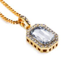 black gem necklace images Created bling stone exquisite gem necklaces cz pendants charm jpg