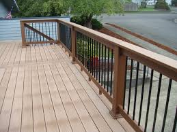 composite deck railings ideas doherty house awesome composite