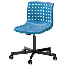 plastic swivel chair skålberg sporren swivel chair blue black ikea
