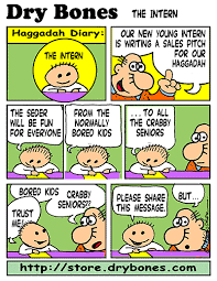 haggadah for passover the bones march 2014