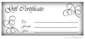 gift certificate printing gift certificates vinyl sticker printing online