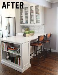 small kitchen islands with breakfast bar breakfast bar small kitchen normabudden
