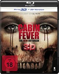 cabin fever 3d blu ray germany