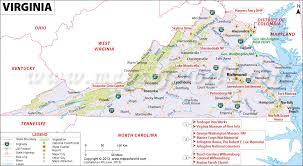 virginia map map of virginia va virginia map