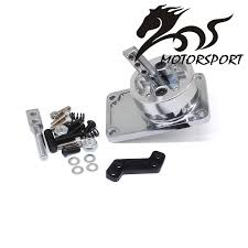 mustang t5 stormcar aluminum racing throw shifter for 83 04 ford