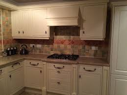country style kitchen units including de dietrich double oven and