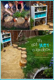 sandbox ideas sand pit design outdoor play areas for kids playing