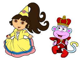 dora8page dora the explorer dora games coloring pages printable