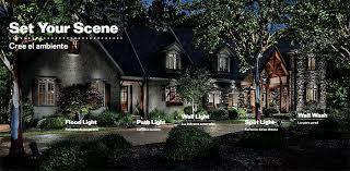 Landscape Lighting Ideas Design Landscape Lighting Wall Wash Professional Outdoor Lighting Design