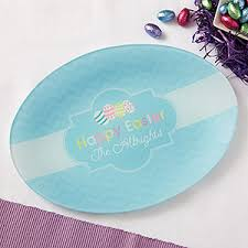 personalized platter personalized platter happy easter