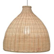 rattan lamp shade 27 b u0026q featured in deluxe interiors april