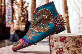 christian louboutin u0027s indian couture collaboration how to spend it