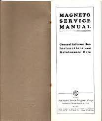 american bosch magneto service manual 1928