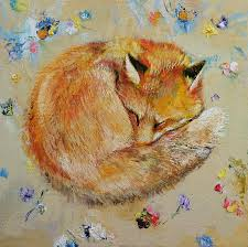 fox paintings fine art america