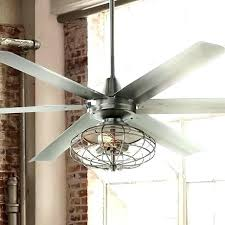 Ceiling Fan With Cage Light Vintage Ceiling Fans With Light Vintage Look Ceiling Fan An
