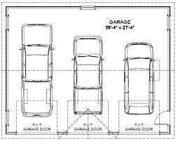 36x28 3 car garage 36x28g1c 1 008 sq ft excellent floor plans
