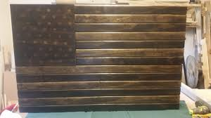 Wooden American Flag Wall Hanging Ana White Us Flag Gun Case Diy Projects