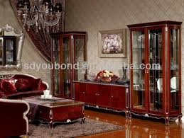 Dining Room Showcase 2014 Yb06 Neo Classic Living Room Showcase Buy Wooden Showcase