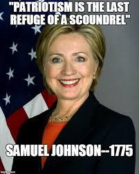 Samuel Johnson Meme - hillary clinton meme imgflip