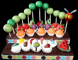 the very hungry caterpillar cake pop display hungry caterpillar