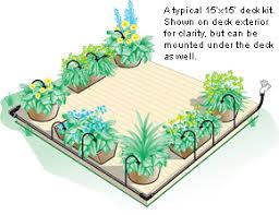 deck garden watering kit lee valley tools