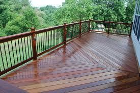 metal deck railing balusters metal deck railing for home