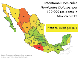 Map Of Old Mexico by Mexico U0027s Other Border Security Migration And The Humanitarian