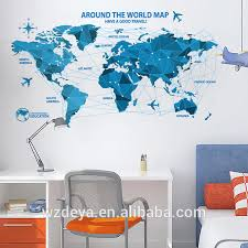 world map wall sticker world map wall sticker suppliers and