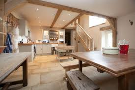 big farmhouse kitchen crag house farm converted barns luxury