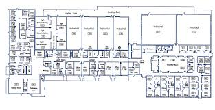 Floor Plan Of A Warehouse by New River Valley Business Center