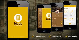 biotic mobile and tablet creative template by sindevo themeforest