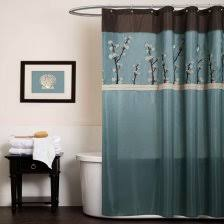 Science Humor Shower Curtains Science Humor Fabric Shower Blue And Brown Shower Curtain 4 Blue Brown Shower Curtain
