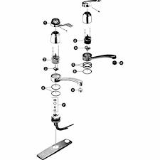 Amazing  Kohler Kitchen Faucet Parts Inspiration Of Kohler K - Kohler kitchen sink parts