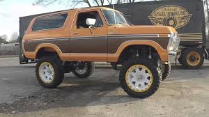 79 Ford Bronco Interior Mobsteel 1979 Ford Bronco Youtube