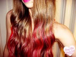 cherry lips blonde curls review redken color rebel hair makeup